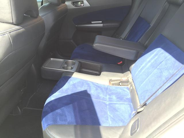 Sエディション ターボ STI 禁煙車 フルエアロ専用シート(18枚目)