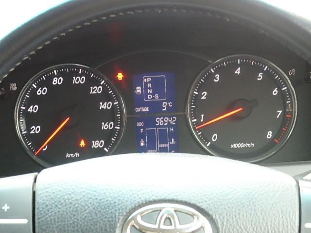 トヨタ マークX 250G 社外テ-ル HID Pシ-ト キ-レス アルミ
