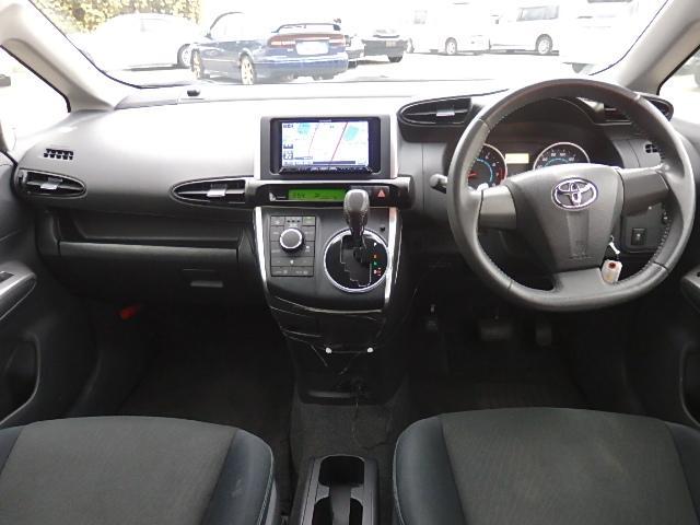 トヨタ ウィッシュ 1.8S ハドルシフト HID 無事故 ナビ フルセグ