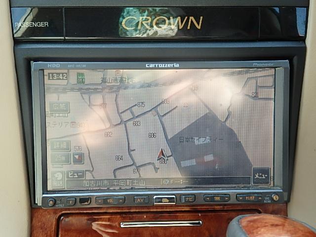 トヨタ クラウン ロイヤルサルーン HDDナビ Bカメラ HID 無事故