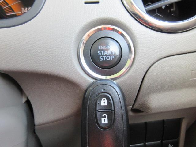【スマートキー&プッシュスタート】ブレーキを踏みながら、このボタンを押すだけでエンジンがかかります!鍵はポケットやカバンに入れたまま!一度使うと、もう手放せません☆