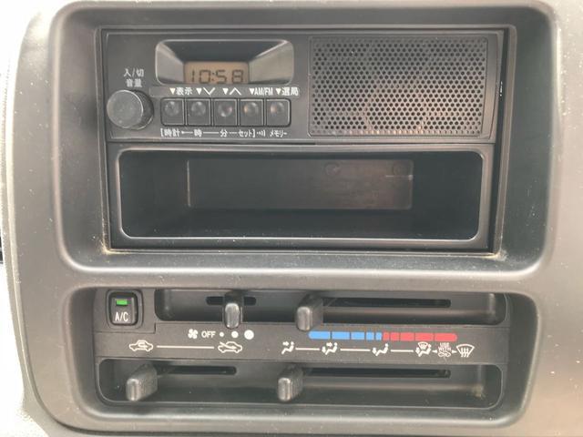 ダイハツ ハイゼットカーゴ スペシャル 5MT ラジオ 取説あり