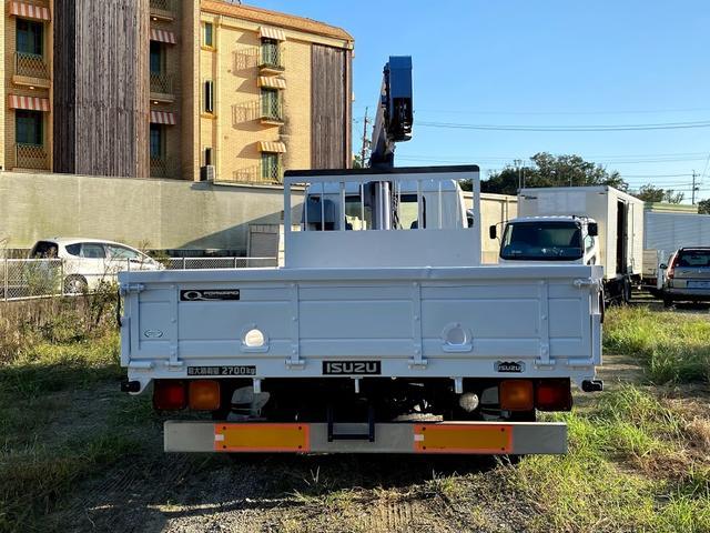 タダノ3段クレーン ベット付き 7.8ターボ 6速マニュアル サスペションシート 荷箱 長4630幅2120 最大積載量2700kg(12枚目)