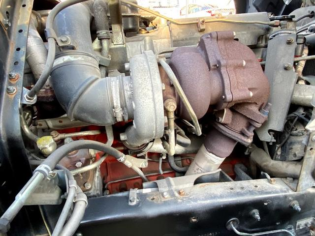 タダノ3段クレーン ベット付き 7.8ターボ 6速マニュアル サスペションシート 荷箱 長4630幅2120 最大積載量2700kg(38枚目)