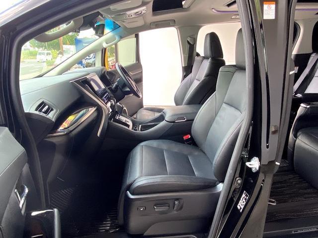 3.5SC モデリスタキットVerIII 黒革パワーシート Wサンルーフ レーダークルーズコントロール 三眼LEDヘッドライト アルパインBIG-X 7人乗り シーケンシャルウインカー(14枚目)