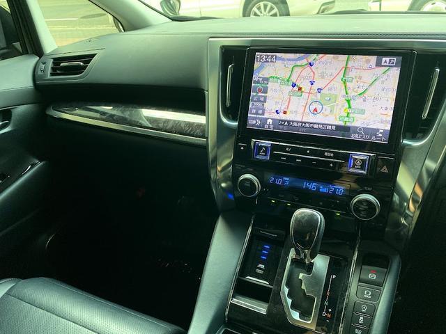 3.5SC モデリスタキットVerIII 黒革パワーシート Wサンルーフ レーダークルーズコントロール 三眼LEDヘッドライト アルパインBIG-X 7人乗り シーケンシャルウインカー(27枚目)