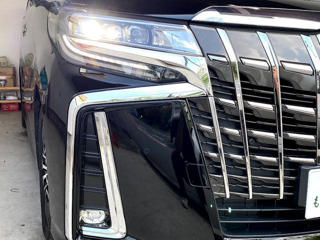 3.5SC モデリスタキットVerIII 黒革パワーシート Wサンルーフ レーダークルーズコントロール 三眼LEDヘッドライト アルパインBIG-X 7人乗り シーケンシャルウインカー(47枚目)