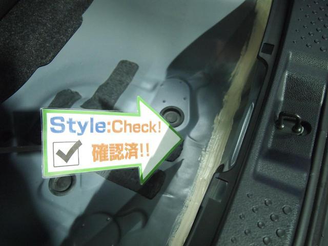 ☆修復歴はリアスペアタイヤ収納部の板金修理となります!綺麗に修理済みで、もちろんですが走行に支障ありません♪