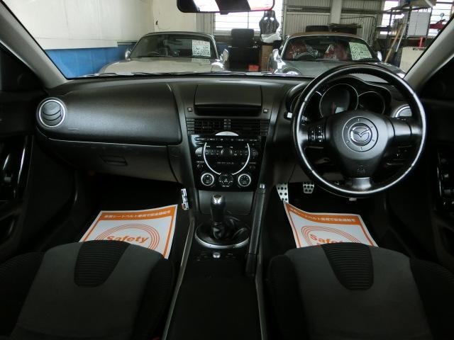 マツダ RX-8 タイプS VOLK18AW アラゴスタ車高調 チタンマフラー