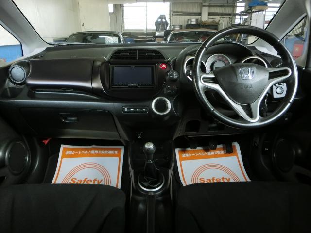 ホンダ フィット RS weds17AW 新品JIC足廻り ナビTV 1オーナ