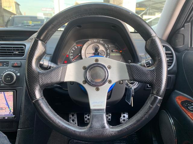 AS200 Lエディ TEIN車高調RAYS17AWマフラー(14枚目)