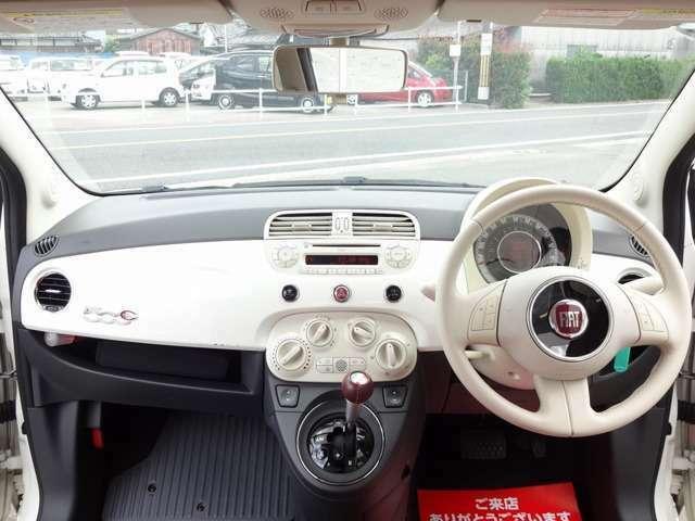 「フィアット」「500(チンクエチェント)」「コンパクトカー」「京都府」の中古車6