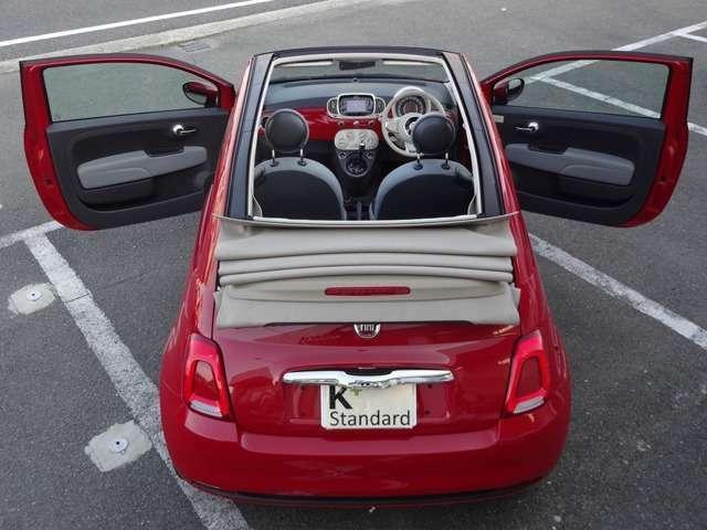 「フィアット」「500(チンクエチェント)」「コンパクトカー」「京都府」の中古車18