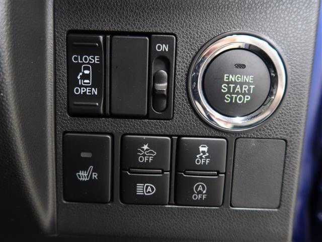 スマートキーなので鍵を挿す必要がありません!