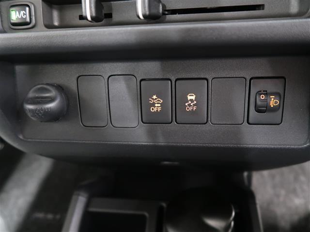 スイッチ類 スマアシ3など各種機能をオン・オフするためのスイッチです。