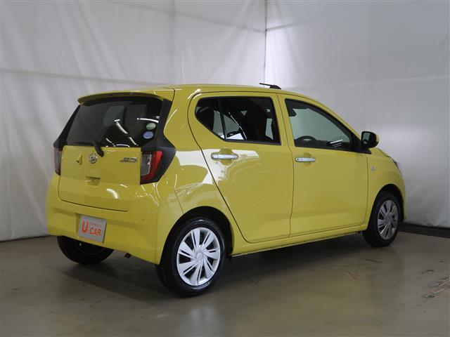 コンパクトで小回りのきく軽自動車「ミライース」入荷しました。カラーは元気の出るレモンスカッシュなイエローです。