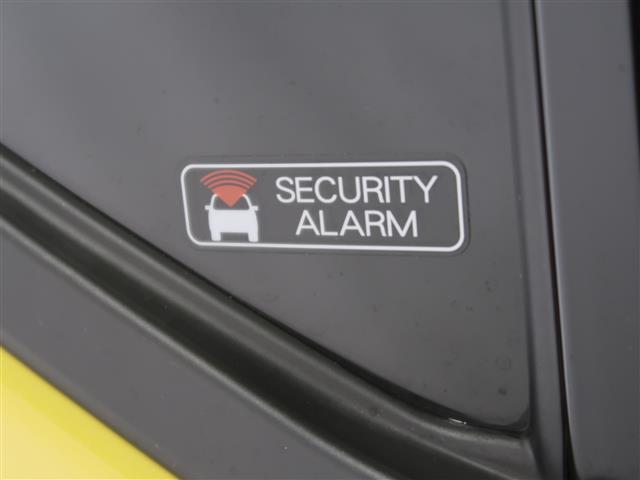 セキュリティーアラーム搭載の車です。