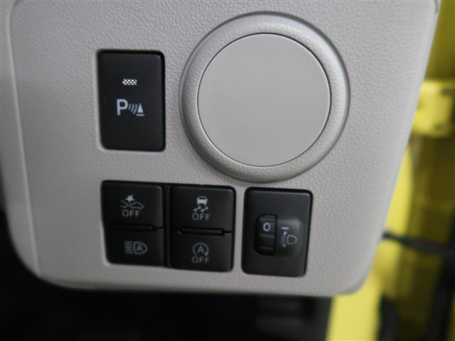衝突軽減ブレーキや車線逸脱システム、アイドリングストップなどのON/OFFを運転席で操作できます。