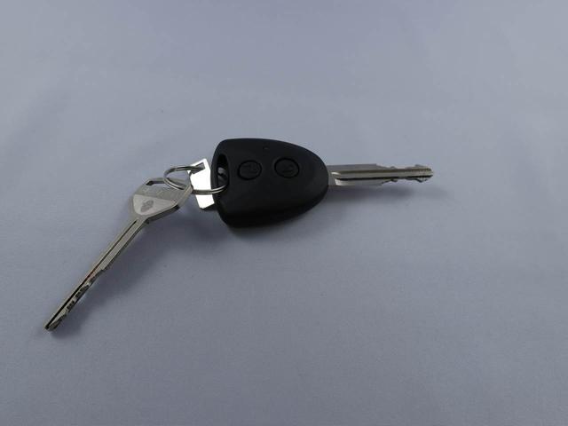 キーフリーなので、キーのボタンで鍵の開閉ができます。