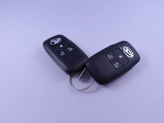電子キーをカバンやポケットに持っていれば、ドアハンドルやバックドアに付いているボタンを押すだけでドアの開閉ができます。手が塞がっている時、カバンの中からカギを探す必要がありません。
