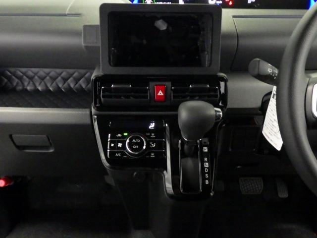 室内の温度調節を細かく設定できます。CVTで低燃費、静かで滑らかなドライブを楽しめます。