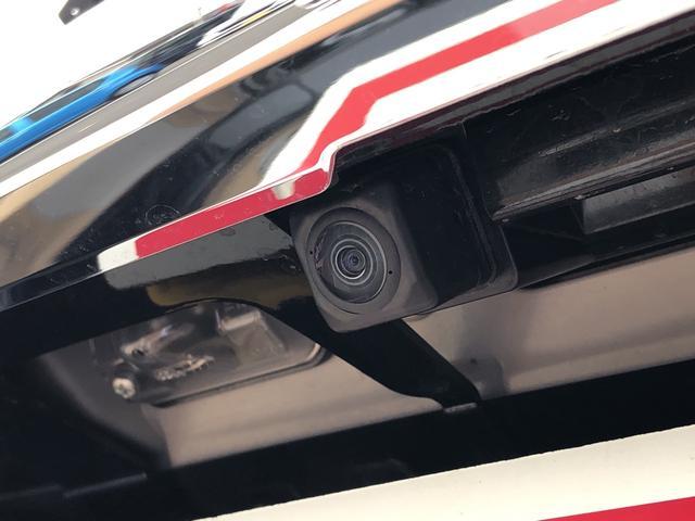 バックする時後方の安全確認ができるバックカメラが付いてます