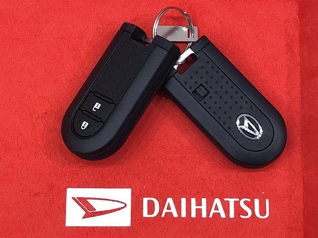 電子カードキーを携帯していれば、キーを取り出さなくてもドアの施錠、解除が可能。又、エンジンのON/OFF操作もボタン操作だけでOK!イモビ機能で盗難防止にも役立ちます。