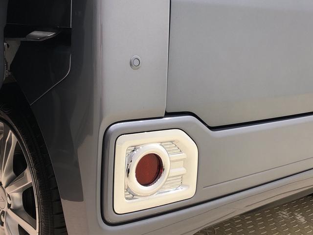 死角になりやすい左右後方の障害物をブザー音で知らせてくれるリヤコーナーセンサー搭載