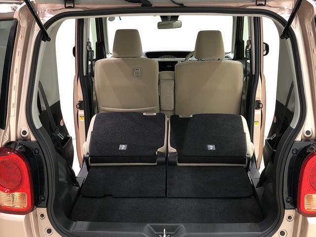 積み降ろしがし易い広々とした開口部とラゲッジスペース。リアシートを畳むと大きな搭載スペースとなり、使い勝手がいいですよ!