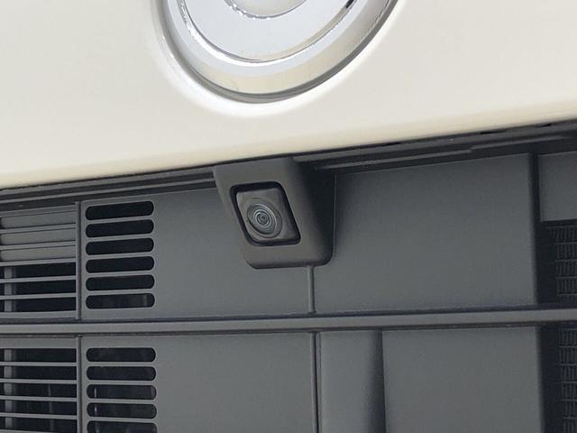 ☆フロントカメラ☆ 車両の前後左右に搭載した4つのカメラにより、車庫入れや狭い道でのすれ違いをしっかりサポートするパノラマモニター対応カメラが付いてます