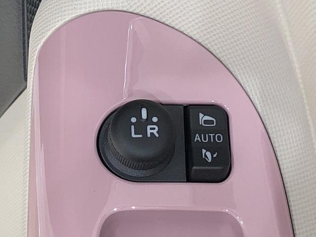 運転席側ドアに使い勝手の良いALL-AUTOのパワーウインドウと電動式格納ドアミラー&ミラー調整機構が付いています。