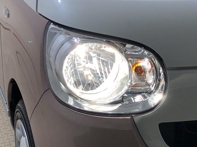LEDヘッドライト。