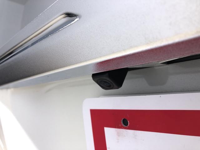 バックカメラはこの位置に搭載です