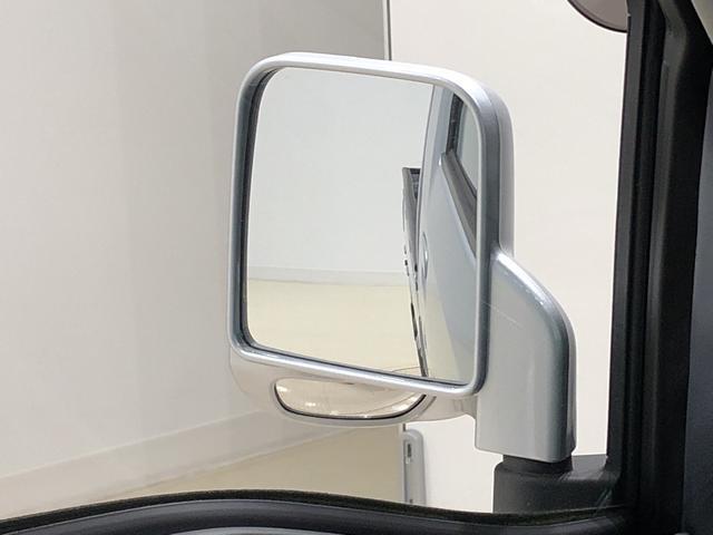 サイドアンダーミラー☆目視やバックミラーでも解消できない助手席側直近側方の視覚を解消する補助ミラーが付いています♪