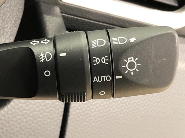 ☆オートライト機能☆ 周囲の明るさに応じて、ヘッドランプを自動的に点灯・消灯ができます。