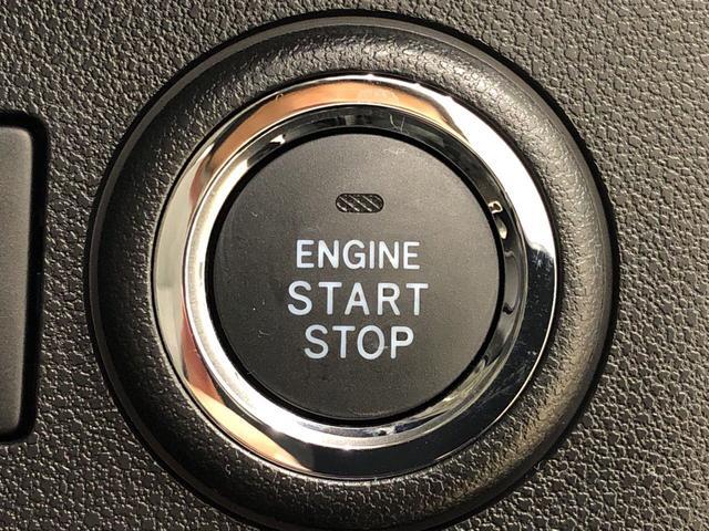 エンジンはプッシュボタンスタートです。