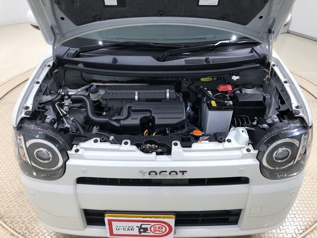 エンジンはコンパクトにまとめられたエンジン(自然吸気エンジン)
