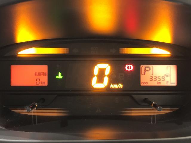 スピードメーターは視認性が高いデジタルメーター