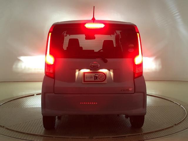 後続車からの被視認性が高い光で、ブレーキング時や夜間走行時の安心感を高めます!