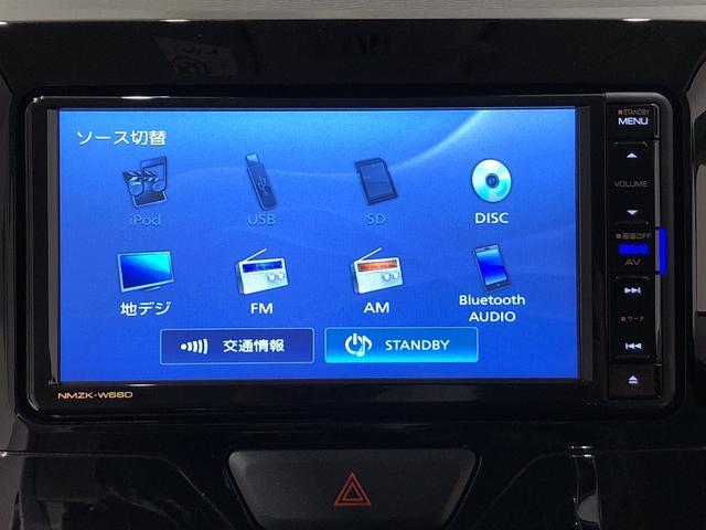 Xターボ SAIII カーナビ Bモニター スマアシIII LEDヘッドランプ 左側パワースライドドア 運転席シートヒーター オートハイビーム オートライト アイドリングストップ セキュリティアラーム キーフリーシステム(5枚目)