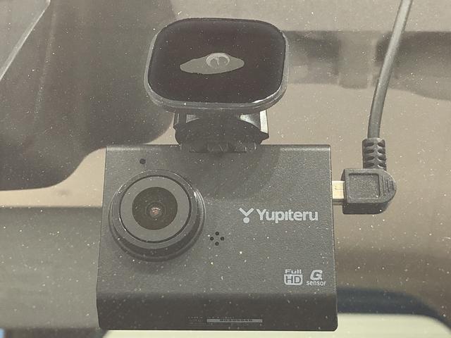 事故直前・直後のデータを記録しておくことで、客観的な検証を行うことができるドライブレコーダーが付いてます