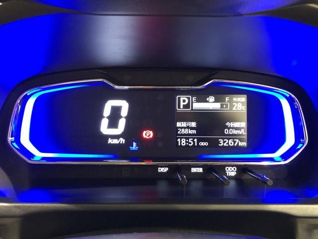 X SAIII LEDヘッドランプ 電動格納式ドアミラー付 CD/AM・FMステレオ オートライト オートハイビーム 前後コーナーセンサー 14インチフルホイールキャップ ツートンカラーインパネ 自発光式デジタルメーター(ブルーイルミネーション)(12枚目)