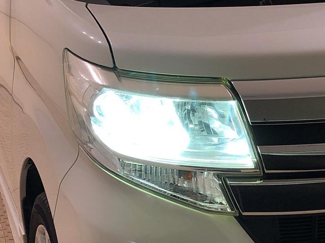 対象物が見やすく白く明るい光で夜間走行をサポートするLEDヘッドランプを搭載