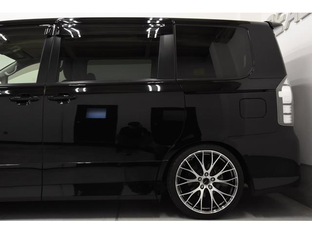 トヨタ ヴォクシー ZS フルエアロ RAYS19AWタナベ車高調 シートカバー