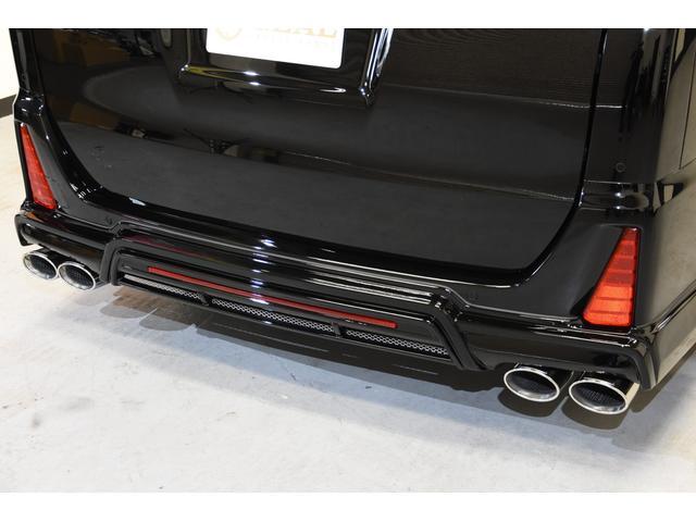 ZS 煌III 新車 アドミレイションコンプリートカー 新品Amistad19インチ 新品BLITZ車高調 4本出しマフラー LEDテールランプ 両側電動スライドドア(34枚目)