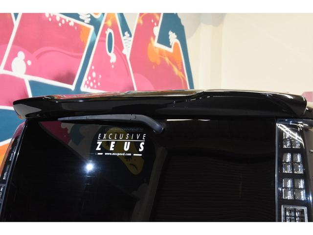 ZS ZEUSコンプリートカー 19インチAW 車高調 アルパインBIGX10型ナビ アルパイン12.8型フリップダウンモニター 4本出しマフラー バックフォグ(32枚目)