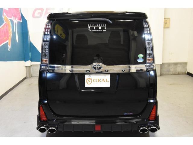 ZS ZEUSコンプリートカー 19インチAW 車高調 アルパインBIGX10型ナビ アルパイン12.8型フリップダウンモニター 4本出しマフラー バックフォグ(33枚目)
