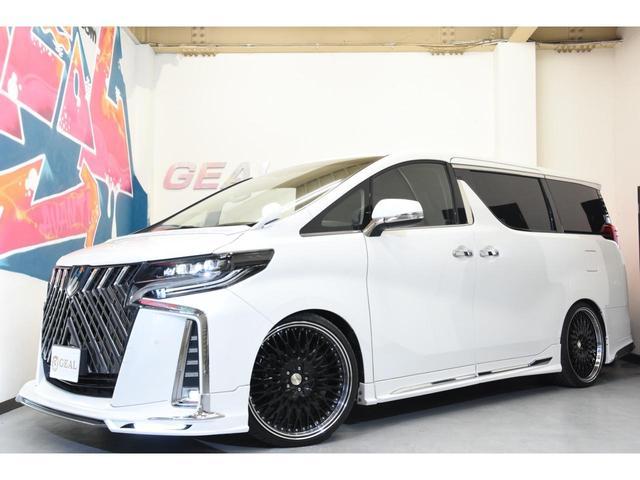 2.5S WALDコンプリートカー 22インチAW TEIN車高調 アルパイン11型ナビ アルパインフリップダウンモニター 両側電動スライドドア(6枚目)