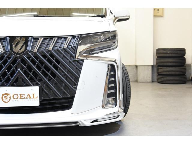 2.5S WALDコンプリートカー 22インチAW TEIN車高調 アルパイン11型ナビ アルパインフリップダウンモニター 両側電動スライドドア(17枚目)