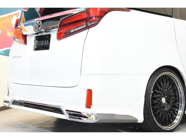 2.5S WALDコンプリートカー 22インチAW TEIN車高調 アルパイン11型ナビ アルパインフリップダウンモニター 両側電動スライドドア(29枚目)